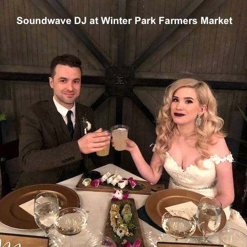 soundwave entertainment - wedding blog - leu gardens - winter park farmers market - orlando, fl