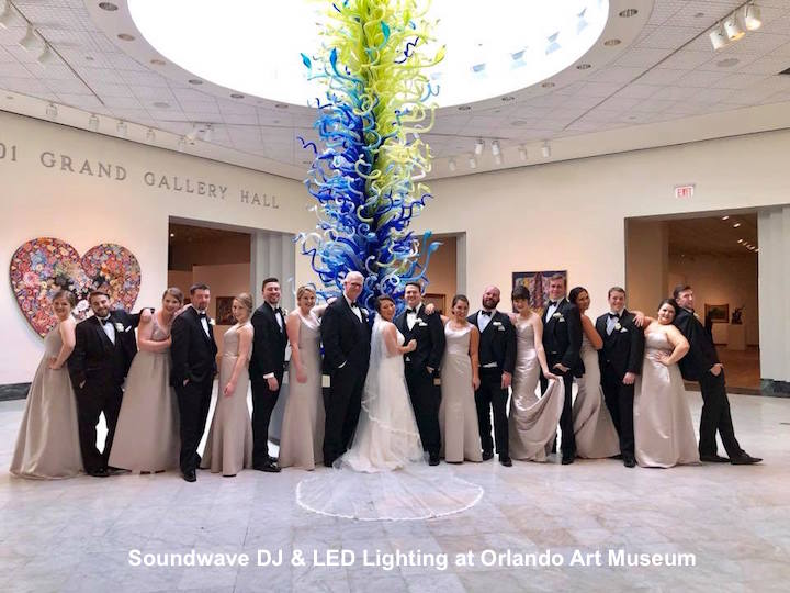 soundwave entertainment - wedding blog - orlando art museum - orlando, fl