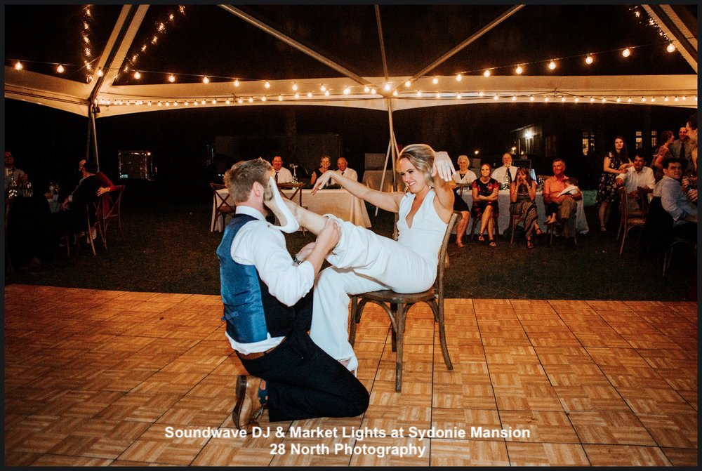 sydonie mansion - orlando, fl - orlando wedding venue - orlando wedding dj - orlando market lights
