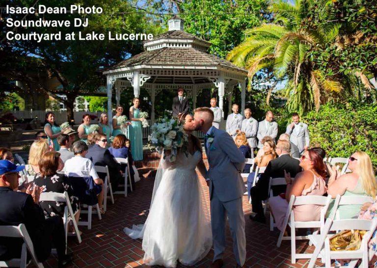 courtyard lake lucerne - orlando wedding venue - orlando wedding dj - soundwave entertainment