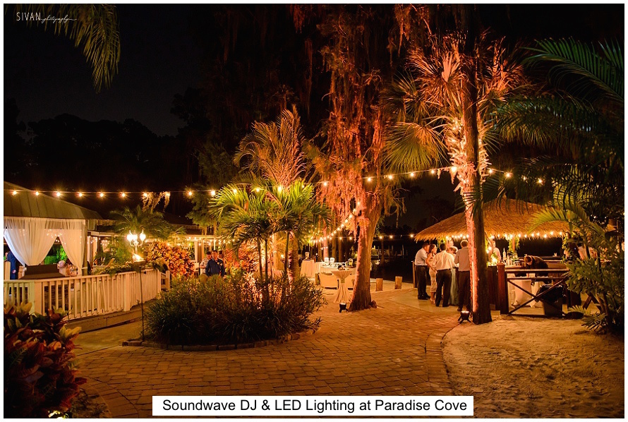 paradise cove - orlando wedding venue