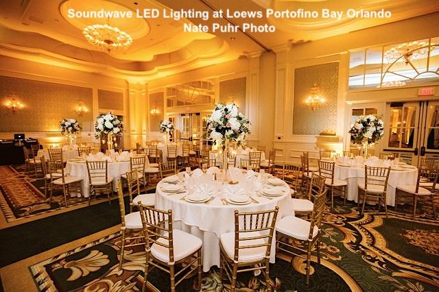portofino bay hotel - loews portofino bay - orlando wedding venue - orlando wedding dj - soundwave entertainment - orlando, fl
