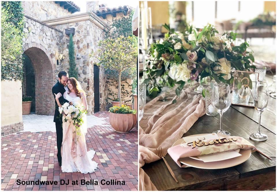 bella collina - orlando, fl - soundwave - wedding dj