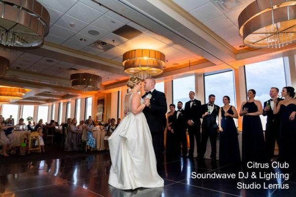 citrus club - orlando wedding venue - orlando dj - soundwave entertainment