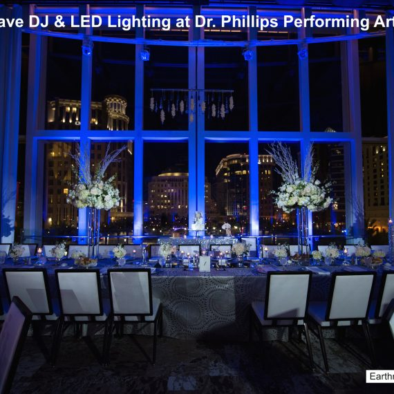 dr phillips performing arts center - orlando wedding venue - soundwave entertainment - orlando, fl