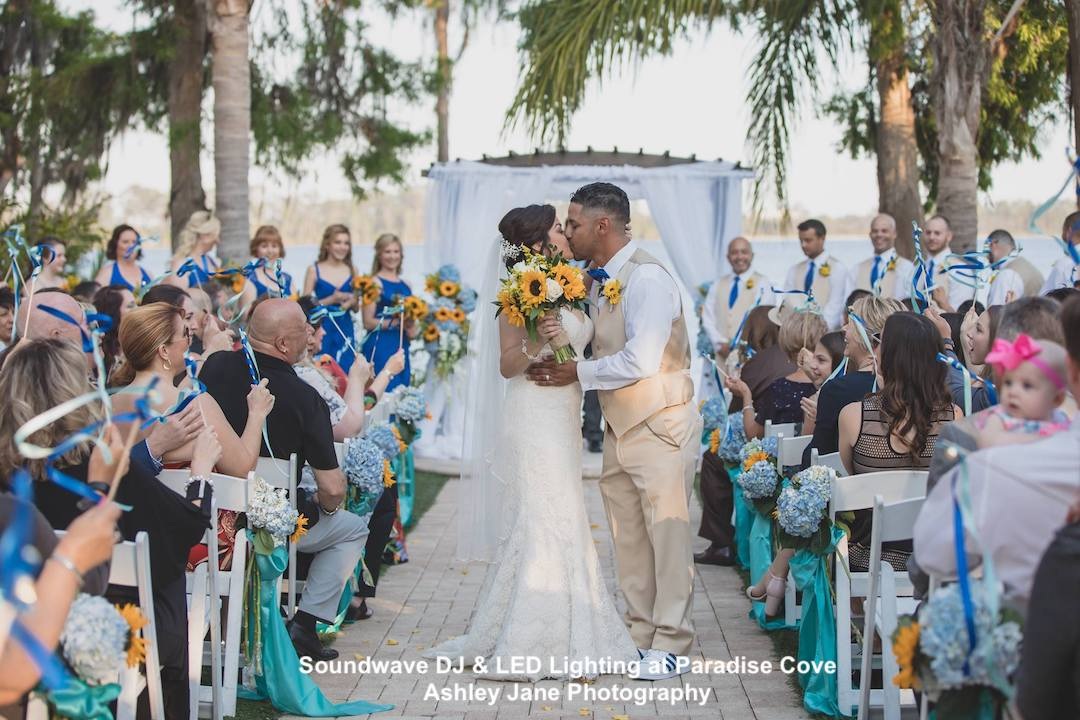 paradise cove - soundwave dj - wedding - orlando, fl