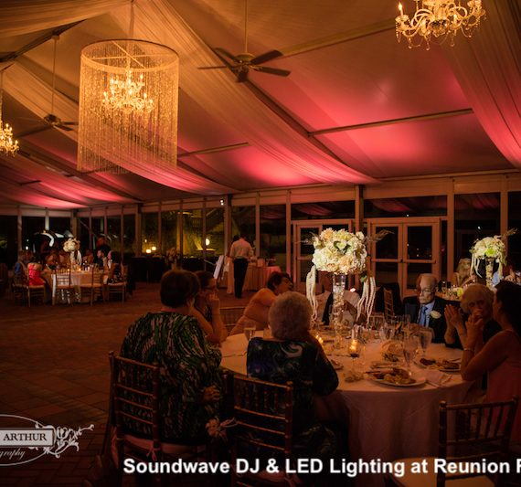 reunion resort - orlando wedding venue - orlando wedding dj - soundwave entertainment - orlando, fl