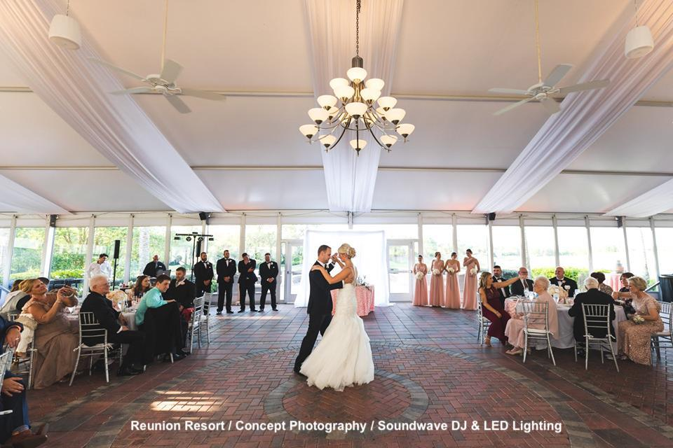 reunion resort - orlando wedding - orlando wedding venue - soundwave entertainment - orlando. fl