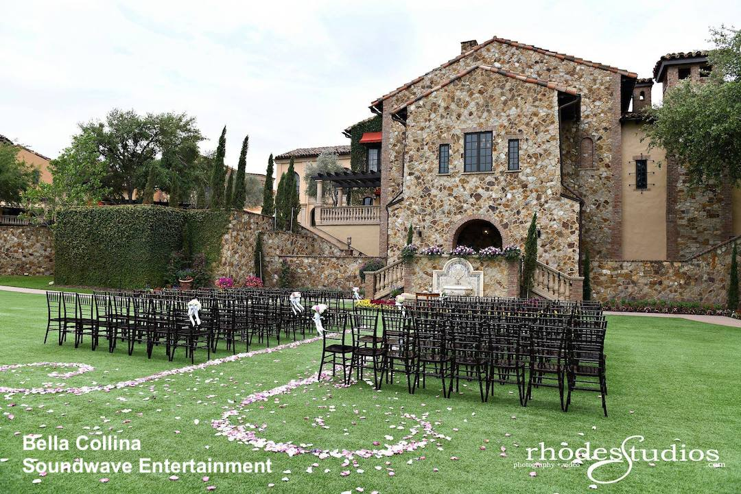 bella collina - orlando wedding venue - orlando wedding dj - soundwave entertainment - orlando, fl