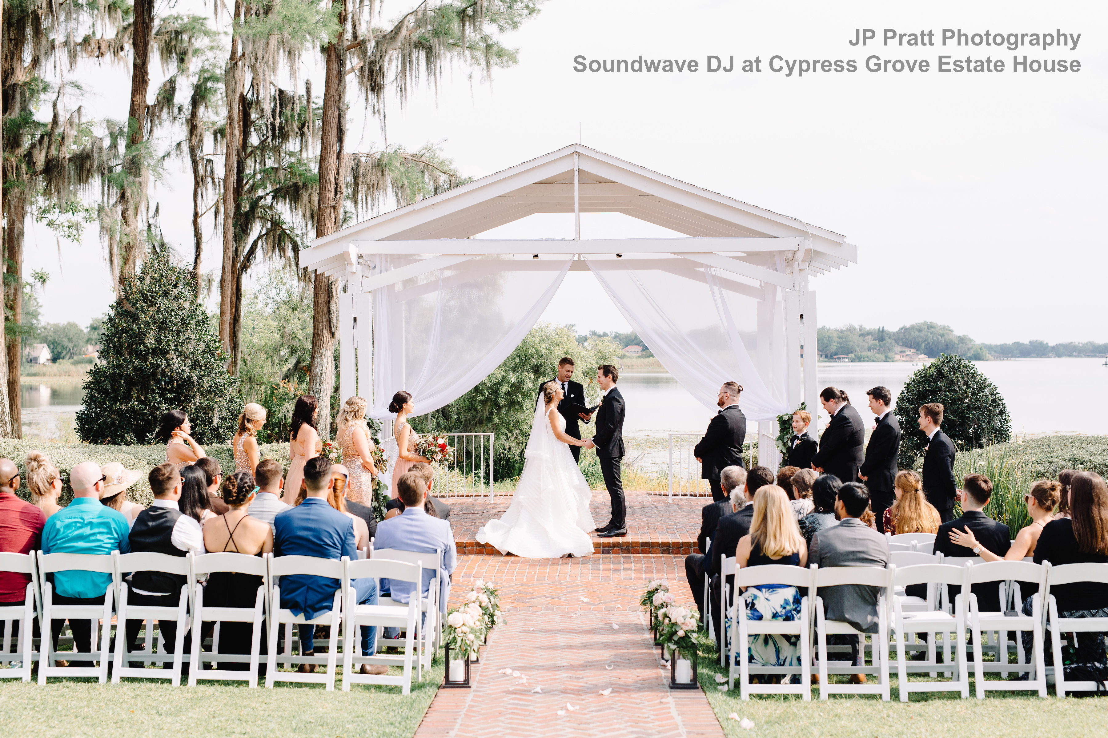 cypress grove estate house - orlando, fl - orlando wedding venue - soundwave entertainment dj