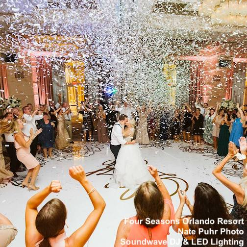 four seasons orlando resort - orlando wedding venue - soundwave entertainment blog - orlando, fl