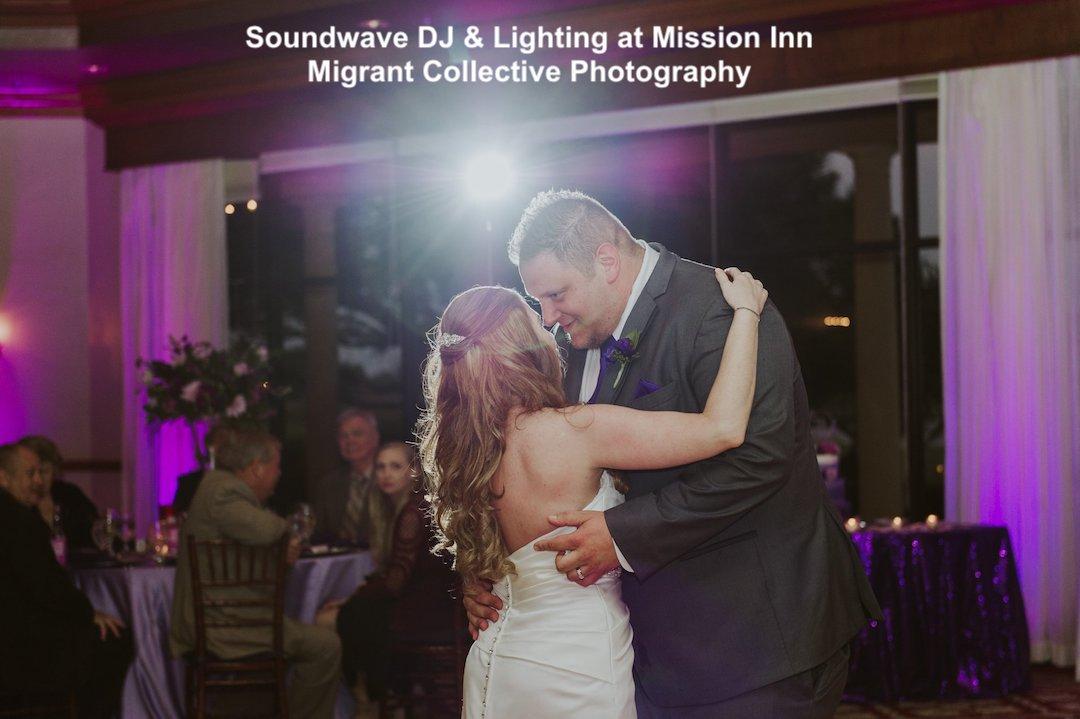mission inn resort - orlando wedding venue - orlando wedding dj - soundwave entertainment - orlando, fl
