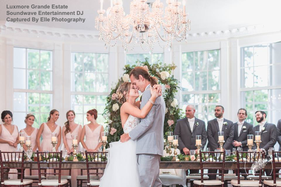 luxmore grande estate - orlando wedding venue - soundwave entertainment - orlando, fl