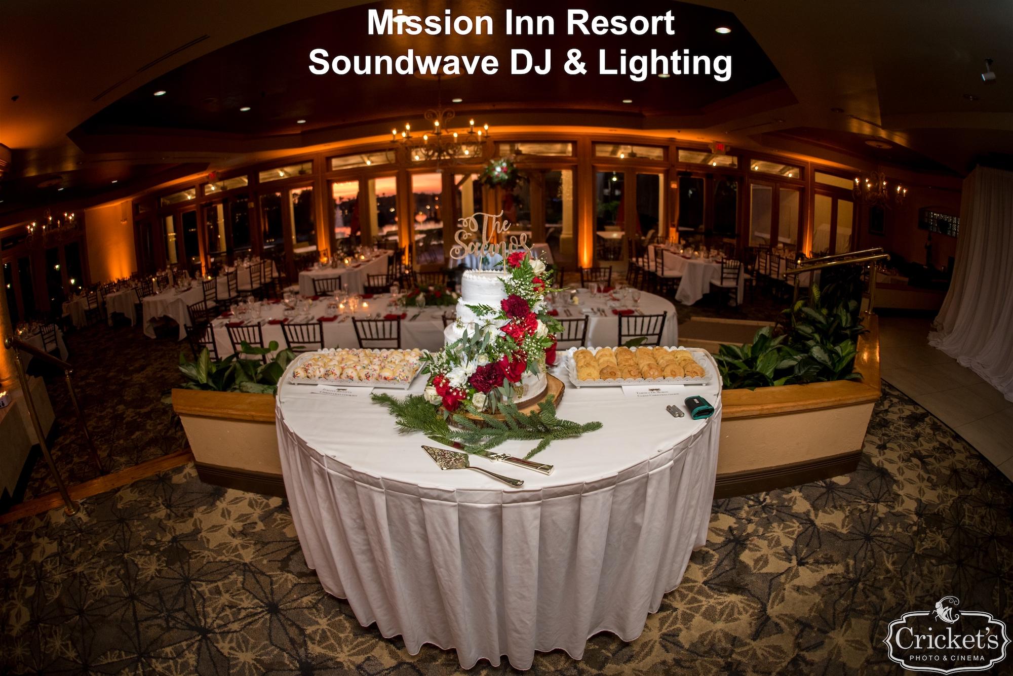mission inn resort - orlando wedding venue - orlando wedding dj - soundwave entertainment