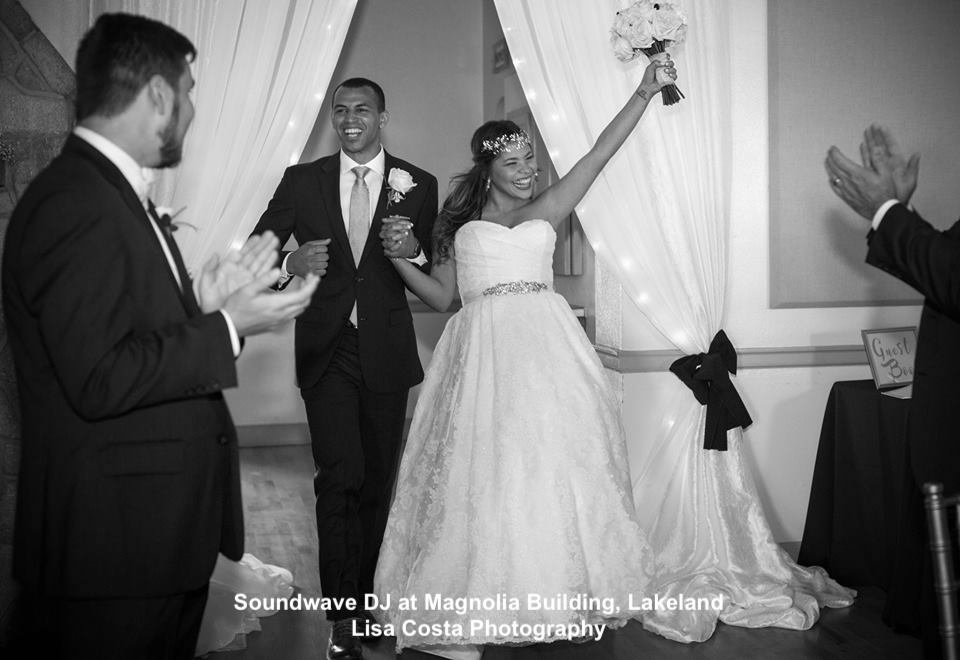 orlando wedding dj - soundwave entertainment - orlando, fl