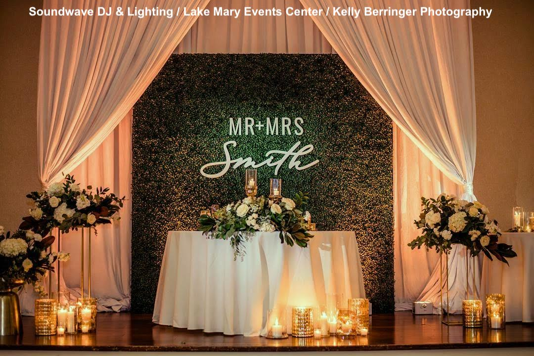 lake mary events center - orlando wedding venue - soundwave entertainment
