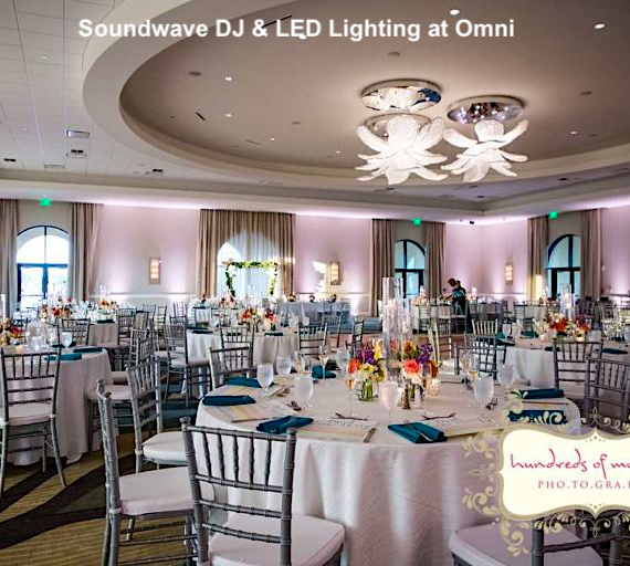 omni championsgate - orlando wedding venue - orlando wedding dj - soundwave entertainment - orlando, fl