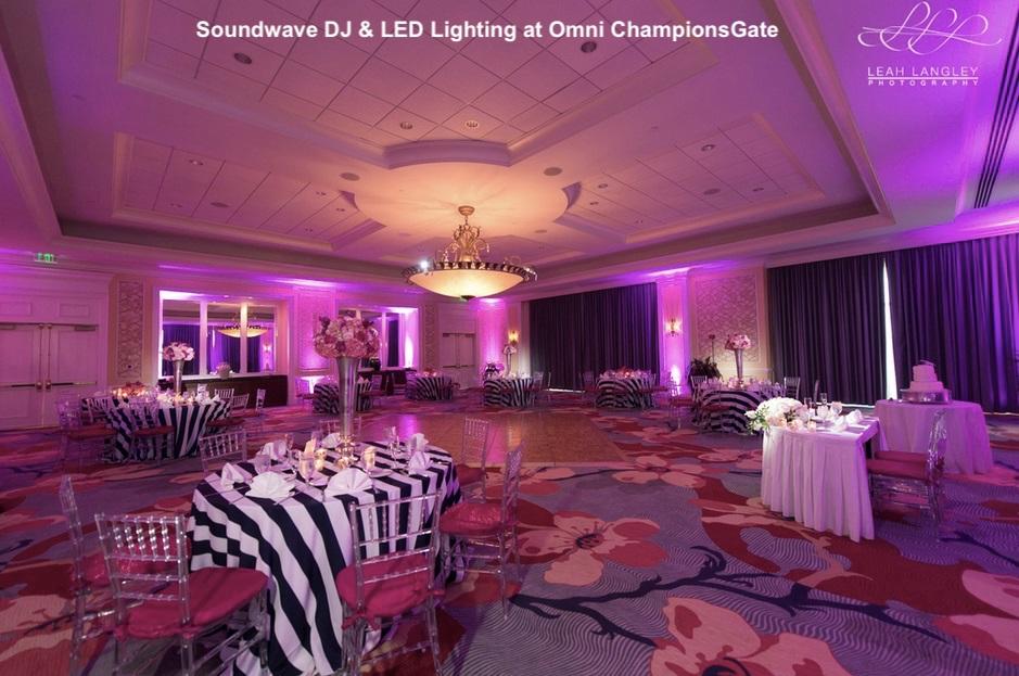 omni championsgate - orlando wedding venue - orlando wedding dj - soundwave entertainment - orlando, fl