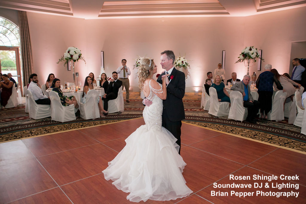 rosen shingle creek - orlando wedding - orlando wedding dj - orlando dj- orlando djs - soundwave entertainment - soundwave dj