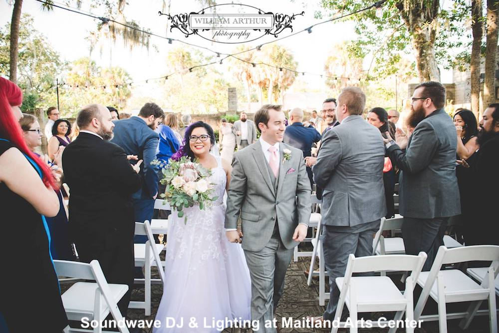 maitland arts center - orlando wedding venue - orlando wedding dj - soundwave entertainment - orlando, fl