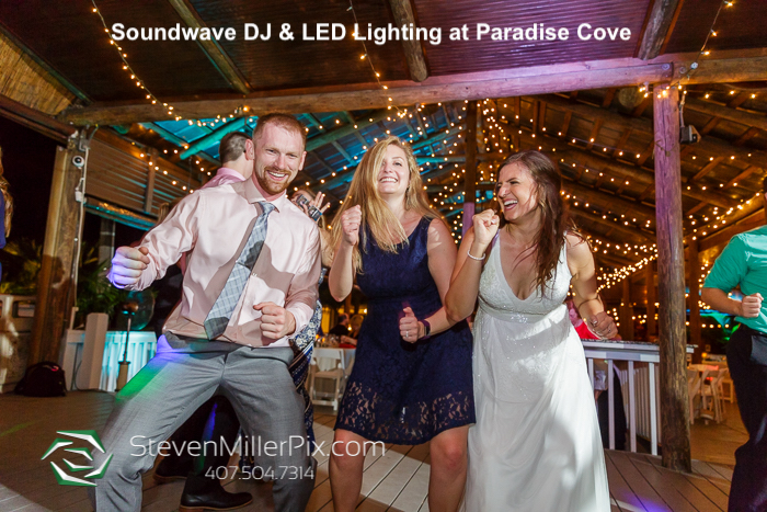 paradise cove-orlando wedding venue - orlando wedding dj - soundwave entertainment - orlando, fl