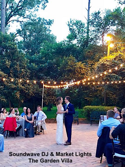 The garden villa, orlando wedding venue, orlando wedding dj, soundwave entertainment, orlando, fl