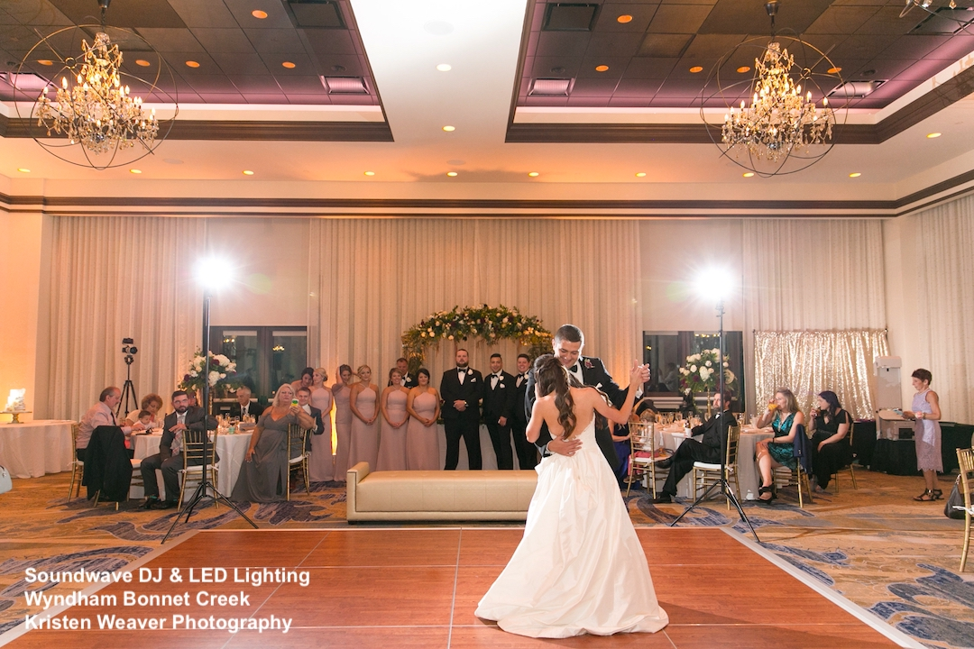 wyndham bonnet creek - orlando wedding venue - orlando wedding dj - soundwave entertainment - orlando, fl
