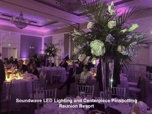 soundwave entertainment - reunion resort - orlando wedding - orlando LED lighting - orlando, fl