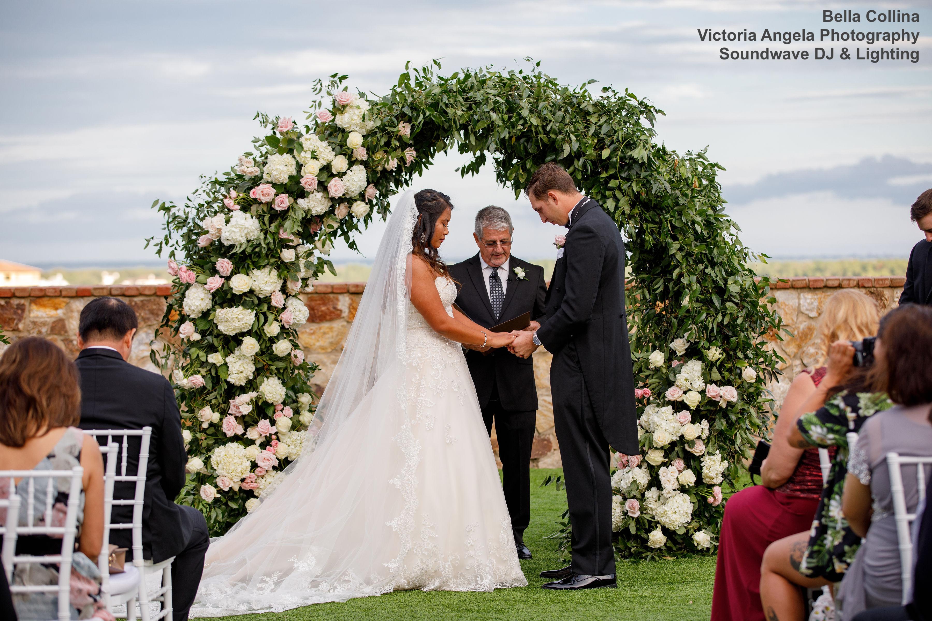 bella collina - orlando wedding venue - orlando wedding dj - soundwave entertainment
