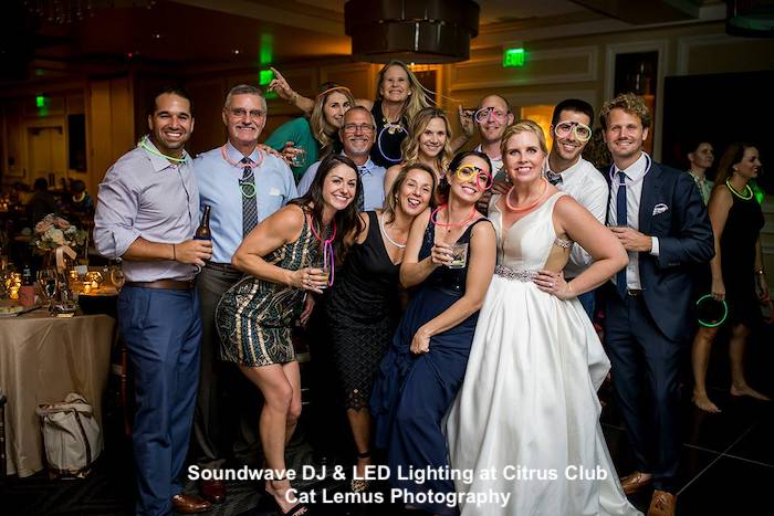 citrus club - orlando wedding venue - orlando wedding dj - soundwave entertainment - orlando, fl