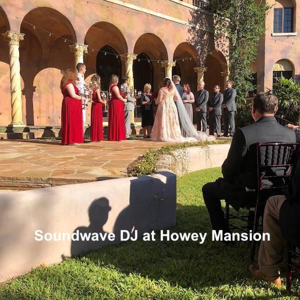 howey mansion - orlando wedding venue - orlando wedding dj - soundwave entertainment - orlando, fl