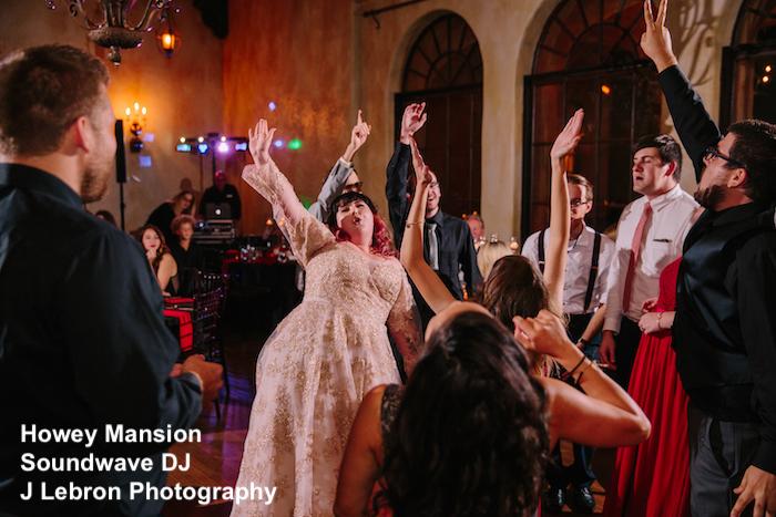 howey mansion -orlando wedding venue - orlando wedding dj - soundwave entertainment