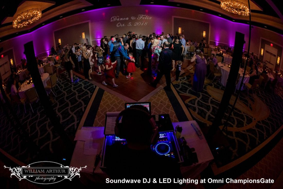 omni orlando resort at championsgate - orlando wedding dj - orlando wedding venue - soundwave entertainment - orlando, fl