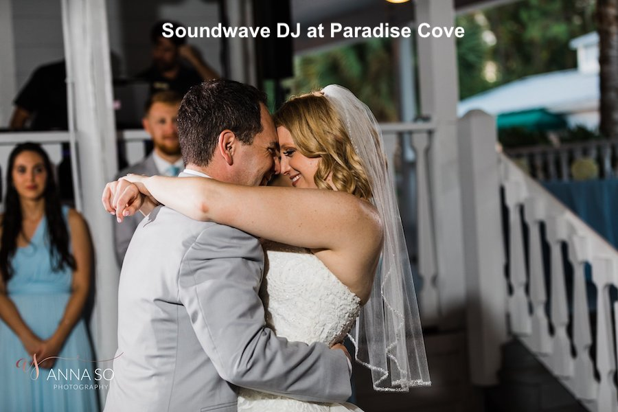 paradise cove - orlando wedding venue - orlando wedding dj - soundwave entertainment - orlando fl