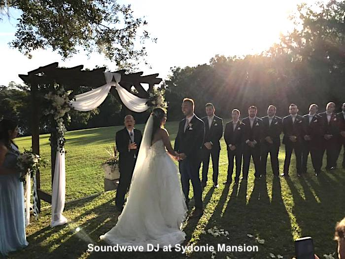 sydonie mansion - orlando wedding venue - orlando wedding dj - soundwave entertainment - orlando, fl