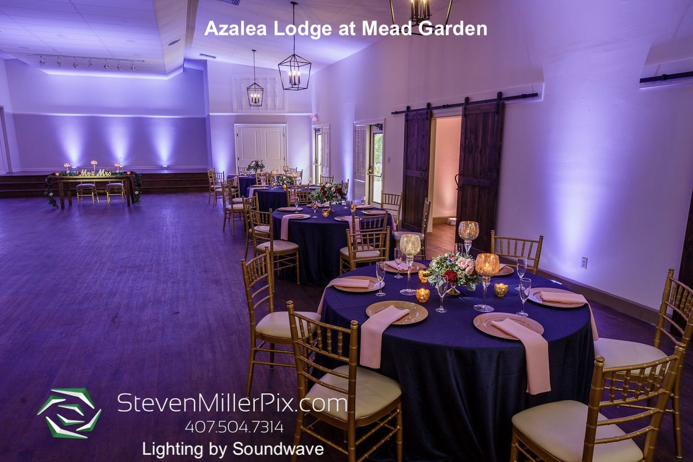 azalea lodge at mead garden - dubsdread catering - orlando wedding venue