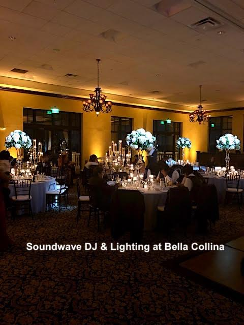 bella collina - orlando wedding - orlando wedding venue - orlando wedding dj - orlando wedding lighting - soundwave entertainment