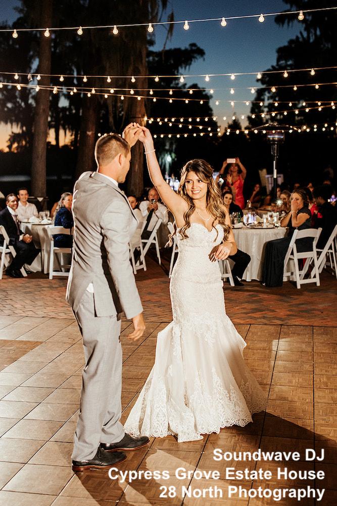 cypress grove estate house - orlando wedding venue - orlando wedding dj - soundwave entertainment -