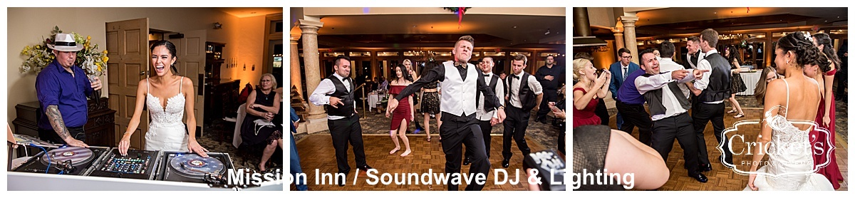 mission inn - orlando wedding venue - orlando wedding dj - orlando wedding lighting - soundwave entertainment