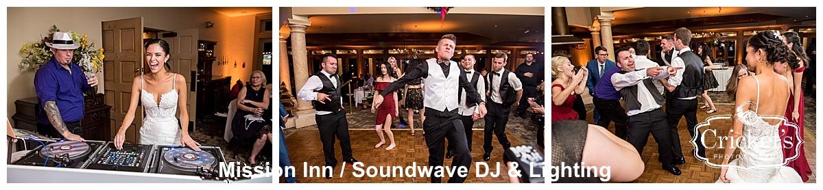 mission inn - orlando wedding venue - orlando wedding dj - orlando wedding lighting - soundwave entertainment