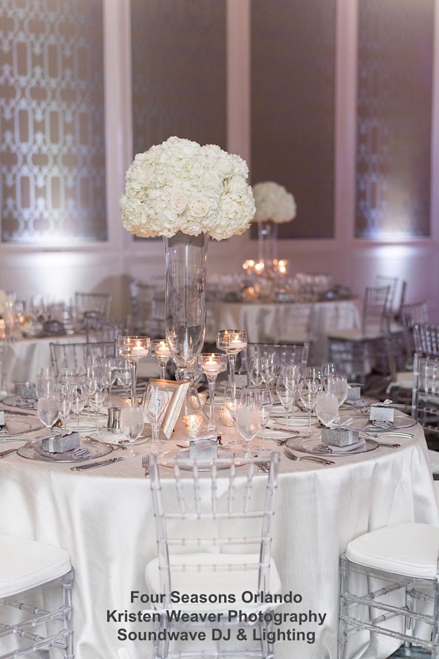 four seasons resort - orlando wedding venue - orlando wedding lightingm- soundwave entertainment