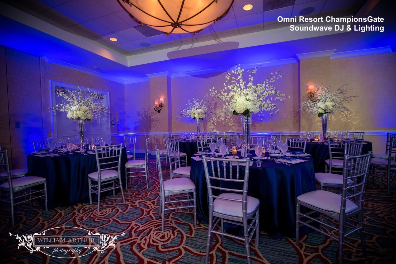 omni orlando resort championsgate - orlando wedding venue - orlando dj - orlando wedding dj - soundwave entertainment