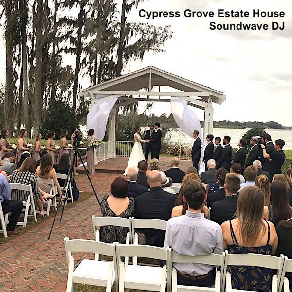 cypress grove estate house - orlando wedding venue - soundwave dj - orlando, fl
