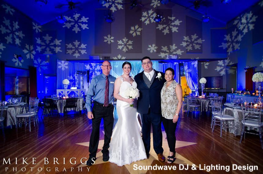 longwood community buidling - orlando wedding venue - orlando wedding lighting - orlando wedding dj - soundwave