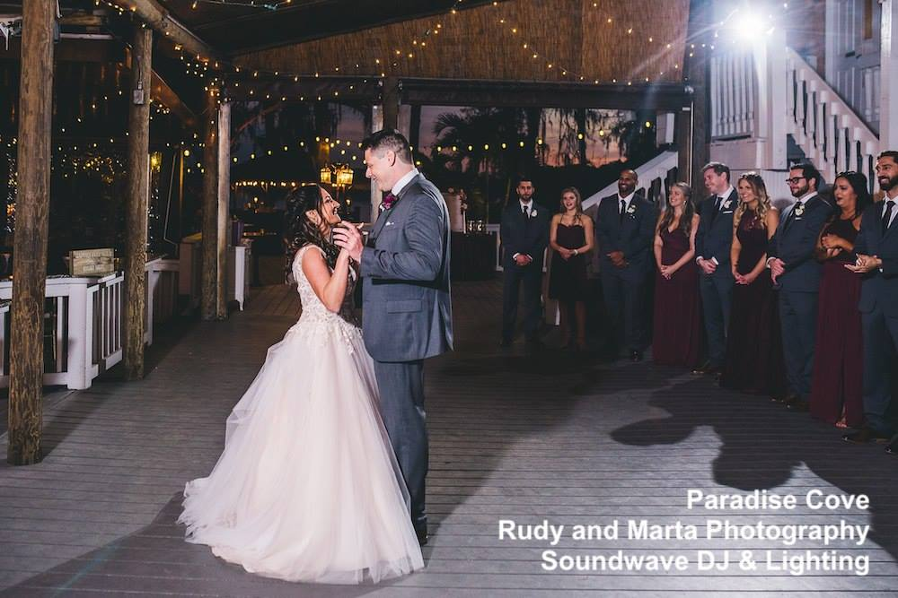 paradise cove - orlando wedding venue