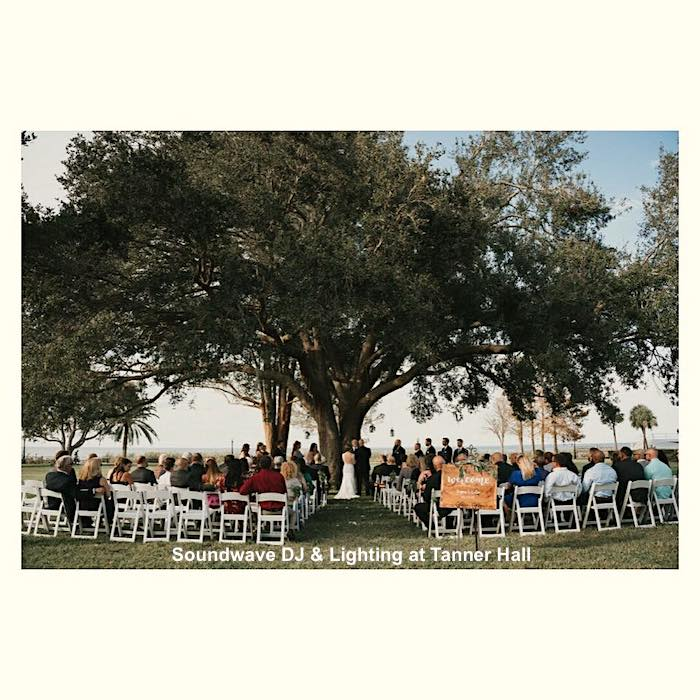 Tanner Hall - orlando wedding venue - soundwave entertainment - orlando wedding dj