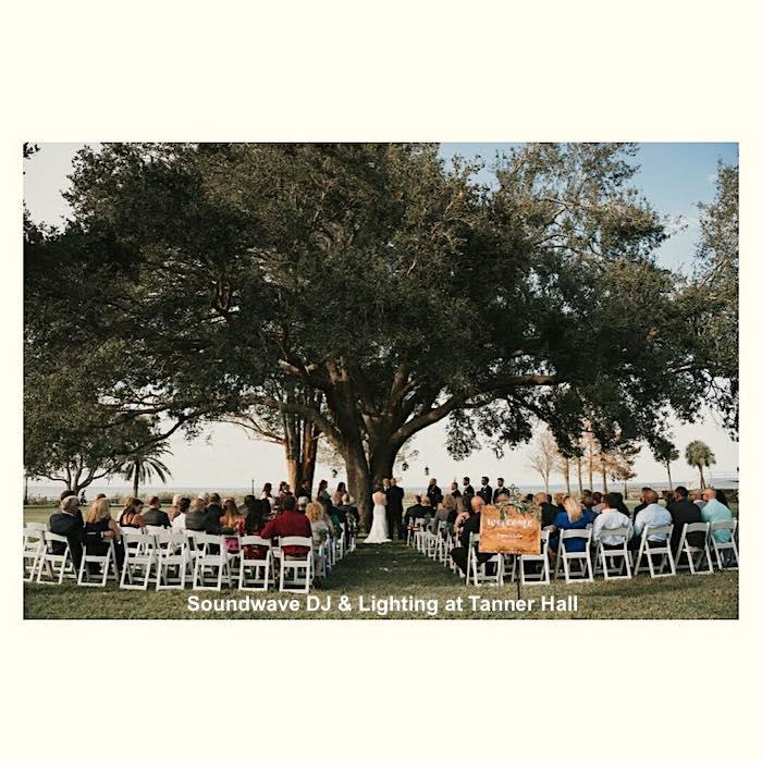 Tanner Hall - orlando wedding venue - soundwave entertainment - orlando wedding dj