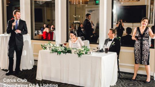 Citrus Club - orlando wedding venue - orlando wedding dj - orlando wedding lighting