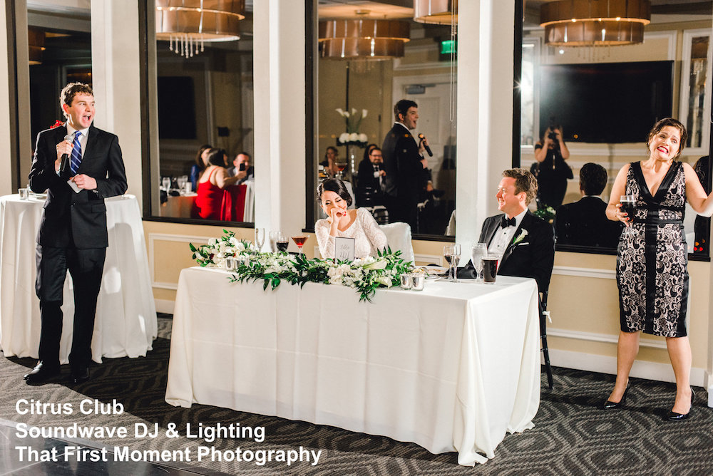 Citrus Club - orlando wedding venue - orlando wedding dj - orlando wedding lighting
