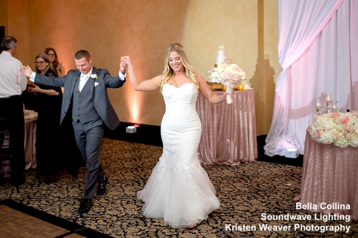 bella collina - orlando wedding venue - orlando wedding lighting - soundwave entertainment